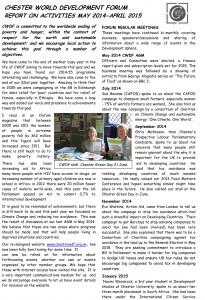 CWDF Annual Report 2014-15 p1